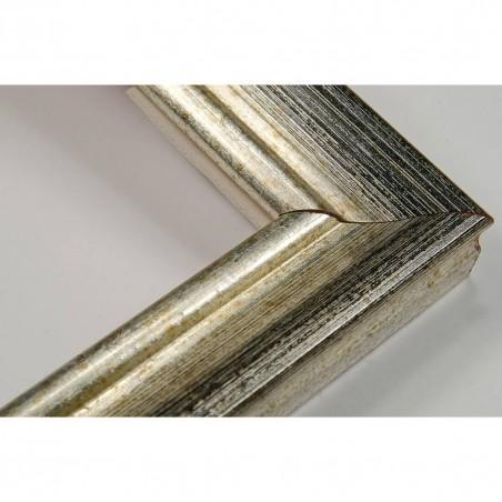 LMF618.131.3012 27x18 - srebrna rama przecierana do zdjęć