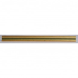 PLA272/131 15x18 - mała złota-zieleń ramka do zdjęć i obrazków sample2