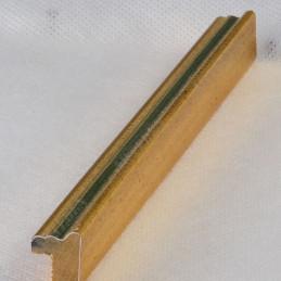 PLA272/131 15x18 - mała złota-zieleń ramka do zdjęć i obrazków sample