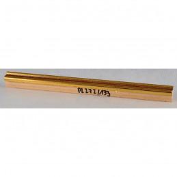 PLA272/133 15x18 - mała złota-czerwień ramka do zdjęć i obrazków sample1