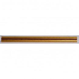 PLA272/133 15x18 - mała złota-czerwień ramka do zdjęć i obrazków sample2