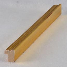 PLA272/OP 15x18 - mała złota ramka do zdjęć i obrazków sample