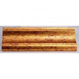 PLA314/0690 70x30 - drewniana new classic złota rama do obrazów i luster sample2