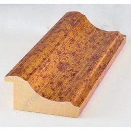 PLA314/0690 70x30 - drewniana new classic złota rama do obrazów i luster sample
