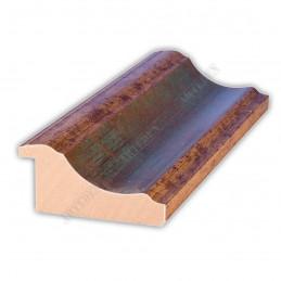 PLA314/0691 70x30 - drewniana new classic zielona blejtram rama do obrazów i luster sample1