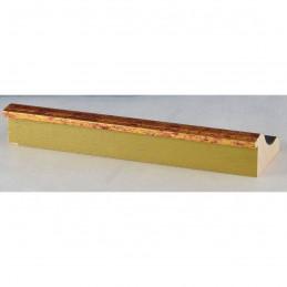 PLA314/0692 70x30 - drewniana new classic złota blejtram rama do obrazów i luster sample1