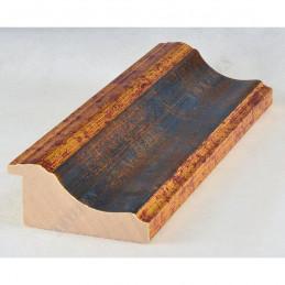PLA314/0692 70x30 - drewniana new classic złota blejtram rama do obrazów i luster sample