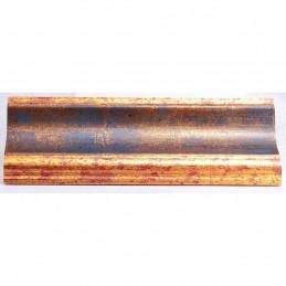 PLA314/0692 70x30 - drewniana new classic złota blejtram rama do obrazów i luster sample2