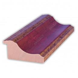PLA314/0693 70x30 - drewniana new classic czerwona blejtram rama do obrazów i luster sample1