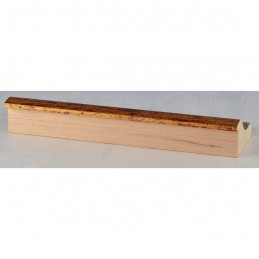 PLA314/0695 70x30 - drewniana new classic złota blejtram rama do obrazów i luster sample1