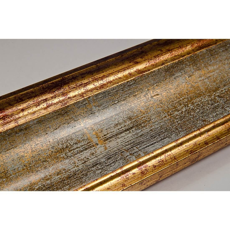 PLA314/0695 70x30 - drewniana new classic złota blejtram rama do obrazów i luster