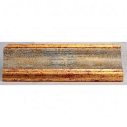 PLA314/0695 70x30 - drewniana new classic złota blejtram rama do obrazów i luster sample2