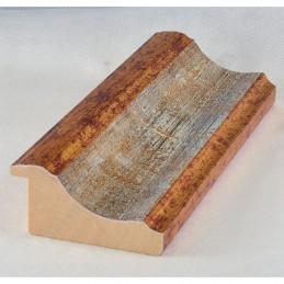 PLA314/0695 70x30 - drewniana new classic złota blejtram rama do obrazów i luster sample
