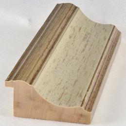 PLA314/177 70x30 - drewniana new classic srebrna blejtram rama do obrazów i luster sample