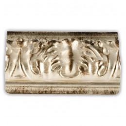 PLA4100/ARG 86x49 - szeroka srebrna rama do obrazów i luster