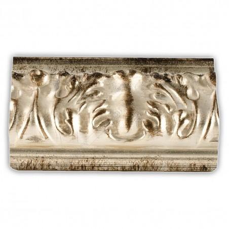 ASO275.63.044 89x44 - szeroka srebrna rama do obrazów i luster