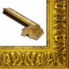 PLA4100/ORO 86x49 - szeroka złota rama do obrazów i luster