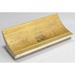 PLA513/800 90x60 - szeroka złoto spękane rama do obrazów i luster sample