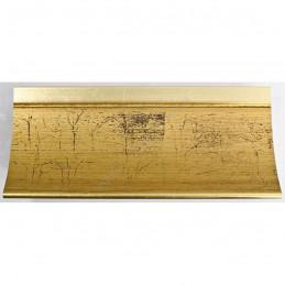 PLA513/800 90x60 - szeroka złoto spękane rama do obrazów i luster sample1