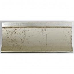 PLA513/805 90x60 - szeroka srebro spękane rama do obrazów i luster sample1