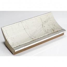 PLA513/805 90x60 - szeroka srebro spękane rama do obrazów i luster sample