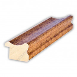 PLA735/0690 35x25 - drewniana złota rama do obrazów i luster sample