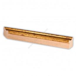 PLA735/0690 35x25 - drewniana złota rama do obrazów i luster sample1