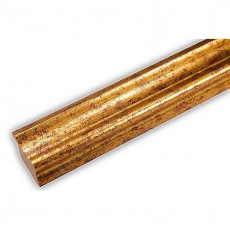 PLA735/0690 35x25 - drewniana złota rama do obrazów i luster