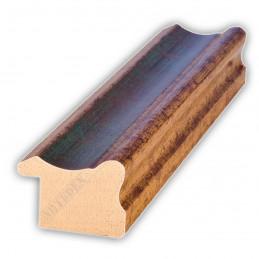 PLA735/0691 35x25 - drewniana złota-zieleń rama do obrazów i luster sample