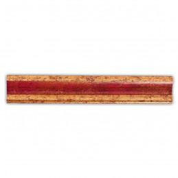 PLA735/0693 35x25 - drewniana złota-czerwień rama do obrazów i luster sample2