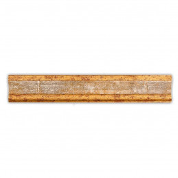 PLA735/0695 35x25 - drewniana złota-biel rama do obrazów i luster sample2