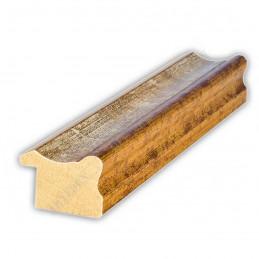 PLA735/0695 35x25 - drewniana złota-biel rama do obrazów i luster sample1