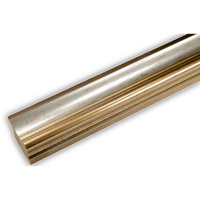 PLA735/177 35x25 - drewniana srebrna rama do obrazów i luster