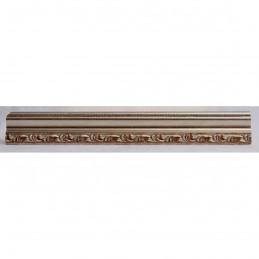 PLA736A/AP 27x15 - wąska srebrna dekor rama do zdjęć i luster sample2