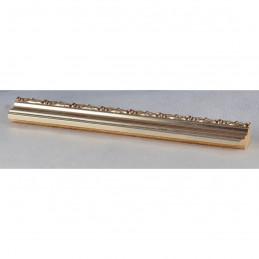 PLA736A/AP 27x15 - wąska srebrna dekor rama do zdjęć i luster sample1