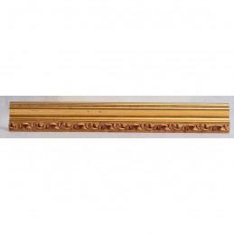 PLA736A/OP 27x15 - wąska złota dekor rama do zdjęć i luster sample2