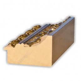 PLA796/532 95x55 - szeroka złota dekor rama do obrazów i luster sample1