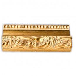 PLA797/532 80x80 - szeroka złota dekor rama do obrazów i luster sample1