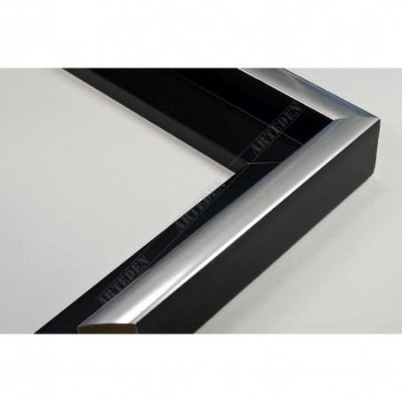 PLA801/NFA 40x35 - american box czarna rama do obrazów
