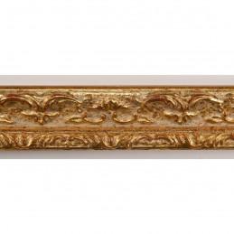 PLAF56/14 25x25 - wąska złota dekor rama do zdjęć i luster sample1