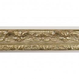 PLAF56/601 25x25 - wąska srebrna dekor rama do zdjęć i luster sample1