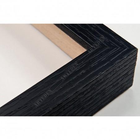 SCO1006/83 18x33 - mała czarna blejtram ramka do zdjęć i obrazków