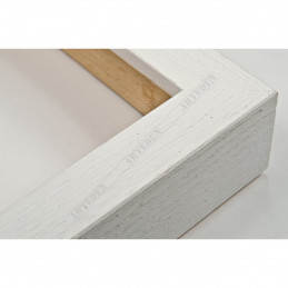 SCO1006/84 18x33 - mała biała blejtram ramka do zdjęć i obrazków