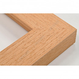 SCO1007/81 33x22 - drewniana naturalna rama do obrazów i luster