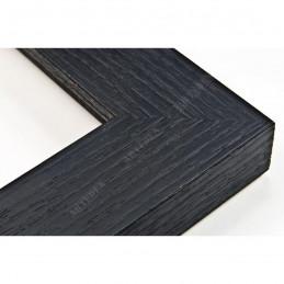 SCO1007/83 33x22 - drewniana czarna rama do obrazów i luster