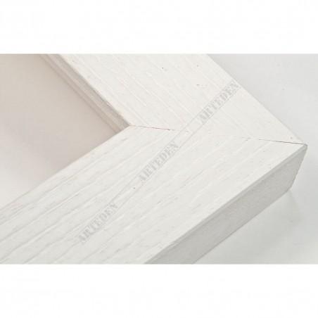 SCO1007/84 33x22 - drewniana biała rama do obrazów i luster