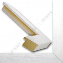 SCO1007/84 33x22 - drewniana biała rama do obrazów i luster sample