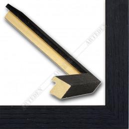 SCO1008/83 18x18 - mała czarna ramka do zdjęć i obrazków sample