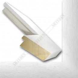 SCO1009/84 74x29 - szeroka biała blejtram rama do obrazów i luster sample1