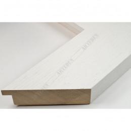 SCO1009/84 74x29 - szeroka biała blejtram rama do obrazów i luster sample